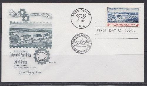 1164 Automated Post Office Unaddressed Artmaster FDC