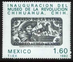 MEXICO 1302, Opening of the Revolution Museum in Chihuahua. MINT, NH. VF.