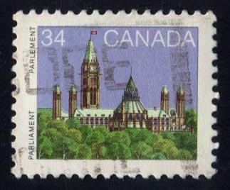 Canada #925 Parliament Library, used (0.25)