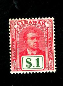 Sarawak #93 MINT FVF OG NH Cat$40