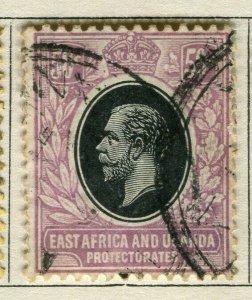 BRITISH KUT; 1912 early GV issue fine used 50c. value