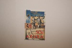 Aruba 1992. 'Ann Discovery Americas'. SG116. UNH