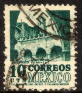 MEXICO 858, 10c 1950 Definitive wmk 279 Used (196)