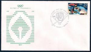 UNITED STATES FDC 29¢ Olympic Baseball 1992 BSA