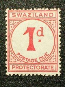 Swaziland Scott #J1 unused