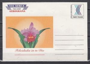 Honduras, 1994 issue. Orchid Aerogramme.