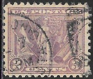 US 537 Used - Victory of the Allies in World War I