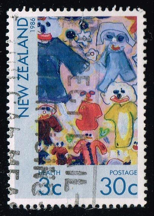 New Zealand #B124 Children's Paintings; Used (0.75)