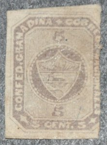 DYNAMITE Stamps: Colombia Scott #10 (crease) – UNUSED