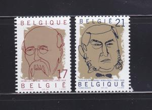 Belgium 1749-1750 Set MNH Nobel Laureates In Peace