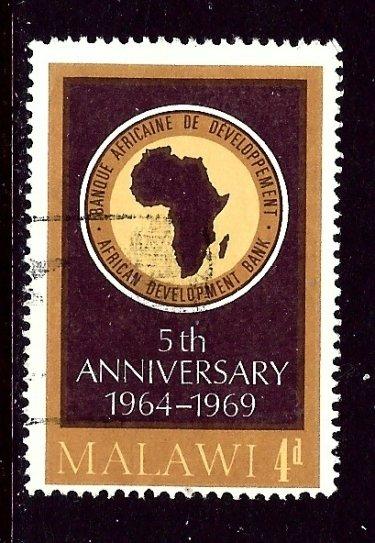 Malawi 118 Used 1969 issue    (ap3909)
