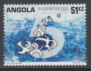 Angola 1307 MNH VF