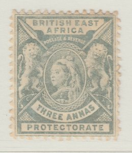 British Colony East Africa KUT 1896 3a MH* Stamp A22P18F8914