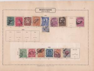 mexico early  stamp as shown ref 12353