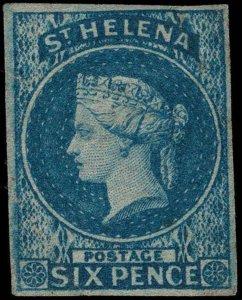 St. Helena Scott 1 Gibbons 1 Mint Stamp (1)