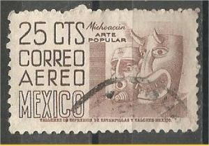 MEXICO, 1950, used 25c, Definitive Scott C189