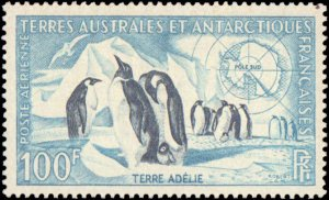 French Sourthern & Antarctic Terriotory #C1-C2, Complete Set(2), 1956, Hinged