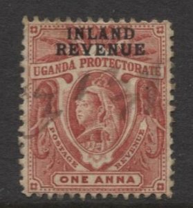 STAMP STATION PERTH Uganda Protectorate #70 QV Definitive Used - Check WMK below