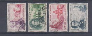FRANCE B341-B343-B344-B346 (4) STAMPS  USED .LOT#F84