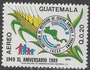 Guatamala C837  MNH  Nutrition Institute 1990