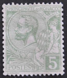 DYNAMITE Stamps: Monaco Scott #14 – UNUSED