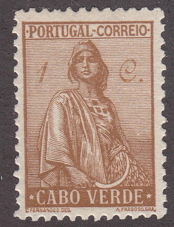 Cape Verde 215 Unused 1934 Ceres