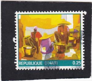 Haiti  # 737  used