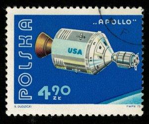 Space, 4.90 ZL, POLSKA, APOLLO (T-7212)