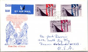 Malta, Worldwide First Day Cover, Christmas