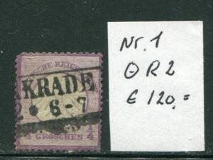 Germany #1  used VF