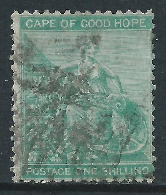 Cape of Good Hope, Sc #19, 1sh Used