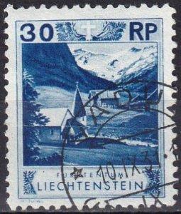 Liechtenstein  #99  F-VF Used  CV $10.50 (Z2931)