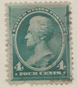 U.S. Scott #211 Jackson Stamp - Used Single - IND