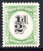 SWA - 1931 Postage Due ½d MNH** SG D47
