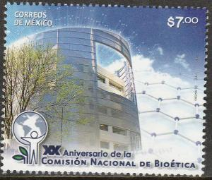 MEXICO 2776, NATIONAL BIOETHICS COMMISSION 20th ANNIV.. MINT, NH. F-VF.