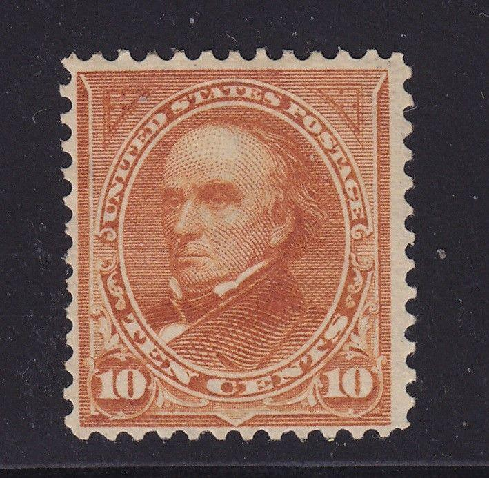 283 F-VF original gum previously hinged with nice color cv $ 150 ! see pic !