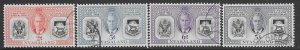 Nyasaland  91-94    1951   set   4  fvf used