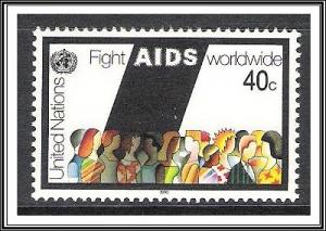 UN New York #574 Aids MNH