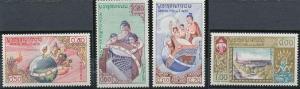 Laos 48-51 MNH (1958)