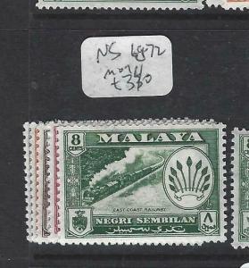 MALAYA SUNGEI UJONG  (P0704BB)  ARMS INCL 8C TRAIN SG 68-72 MOG