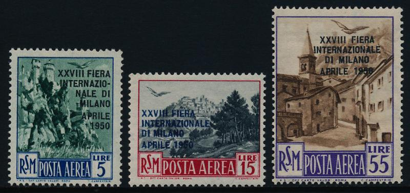 San Marino C72-4 MNH Architecture, International Fair of Milan