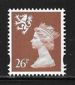 Great Britain Scotland SMH66 26p Machin MNH