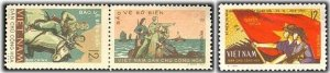 Vietnam 1964 MNH Stamps Scott 330-331 Army Horse Soldiers