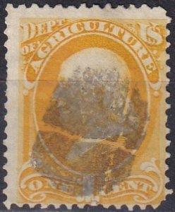 US #O1 F-VF Used CV $200.00 (Z1564)