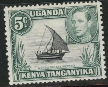 Kenya Uganda and Tanganyika KUT Scott 67 MH*