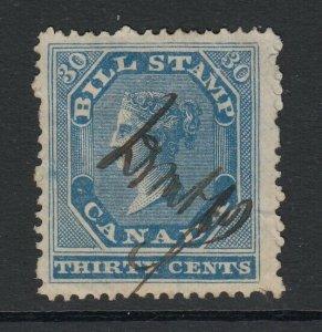 Canada (Revenue) van Dam FB12, used, perf 12.5