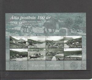 FAROE ISLANDS 435 SOUVENIR SHEET MNH 2014 SCOTT CATALOGUE VALUE $11.00