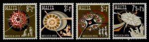 Malta B16-9 MNH Christmas, Star, Holy Family, Shepherds, Three Kings