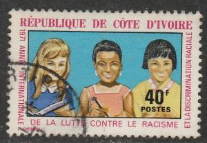 Côte d'Ivoire  1971  Scott No. 319  (O)