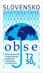 SLOVAKIA/2019 -  Chairmanship of the SR of OSCE